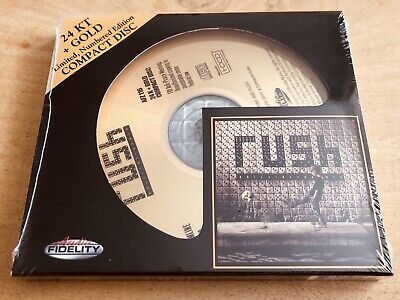 (Rare Sealed CD: Numbered Limited Edition, 24 Karat + Gold) Rush: Roll The Bones