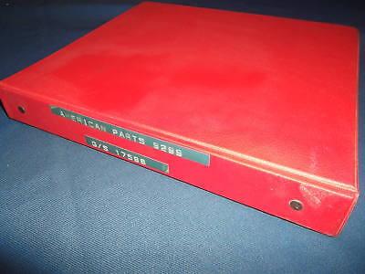 American Crawler Truck And Self Propelled Crane Parts Manual Book Catalog