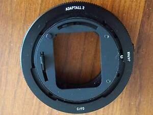 TAMRON ADAPTALL 2 Mount for Canon FD, with 35-70mm lens Marleston West Torrens Area Preview