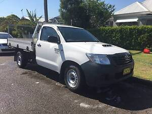 2014 Toyota Hilux Workmate Ute * DIESEL * 12 MONTHS REGO Kahibah Lake Macquarie Area Preview