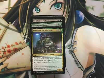 (EDH Fungus Deck - Custom MTG Magic the Gathering Slimefoot Commader 100 Cards)
