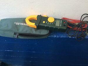 Greenlee AC clamp on meter CM-600