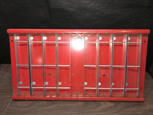 Geneva Manufacturing Co Single Tier Catalog Binder Rack Red Parts Manuals Holder