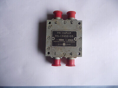 Radiation Systems Inc. Voltage Dividers 3db Coupler Rsi2632-05
