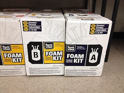 Touch N Seal U2-600 Spray Closed Cell Foam Insulation Kit 600bf