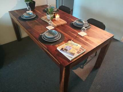 Solid Hardwood Timber Table