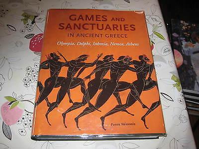 GAMES & SANCTUARIES IN ANCIENT GREECE PANOS VALAVANIS LG FORMAT HARDBACK BOOK
