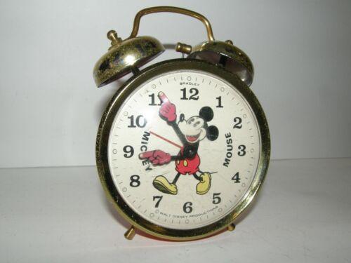 Walt Disney Productions by Bradley - Mickey Mouse Alarm Clock