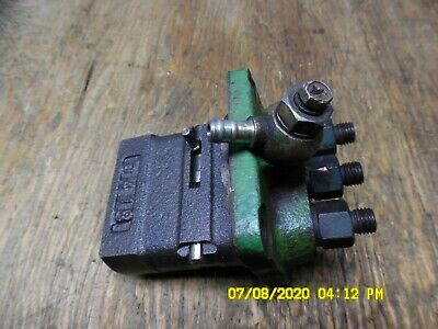 Yanmar 3 Cyl Diesel 3t90j Fuel Injection Pump Ch10679