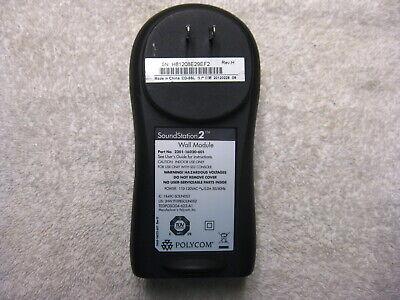 Polycom Soundstation2 Wall Module Interface Power Supply 2201-16020-601