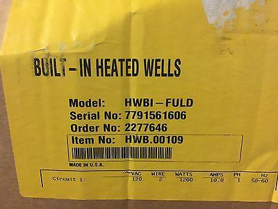 120v Hatco Hwbi-fuld Standard Watt Insulated Single Drop In Hot