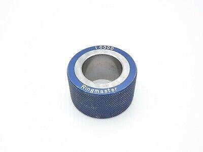 Ringmaster Smooth Plain Bore Ring Gage 1.0000 No Etchings 1