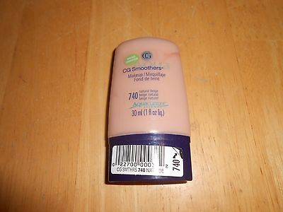 1 COVERGIRL CG SMOOTHERS Aqua ALL DAY HYDRATING MAKEUP 740 Natural Beige