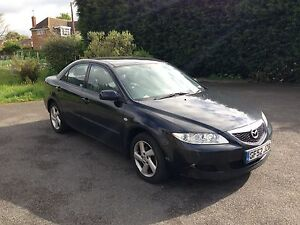 2002 MAZDA 6 TS BLACK, BARGAIN, taxed and mot'ed great runner