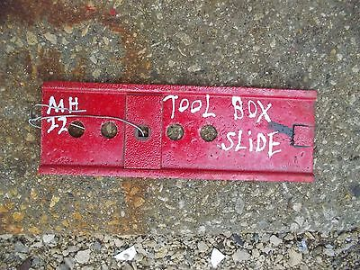 Massey Harris Mh 22 Tractor Tool Box Tray Slide Bracket