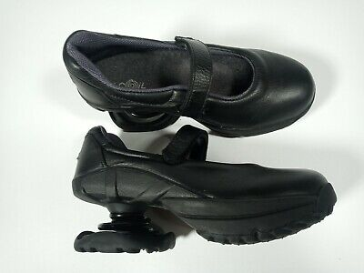 Z-Coil Womens Mary Jane Shoes Sz 8 Black Leather Pain Relief Orthopedic Comfort