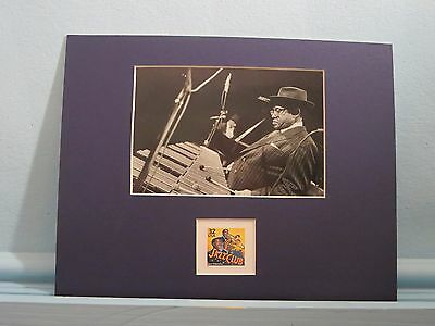 Jazz Great - Lionel Hampton honored by the Jazz stamp