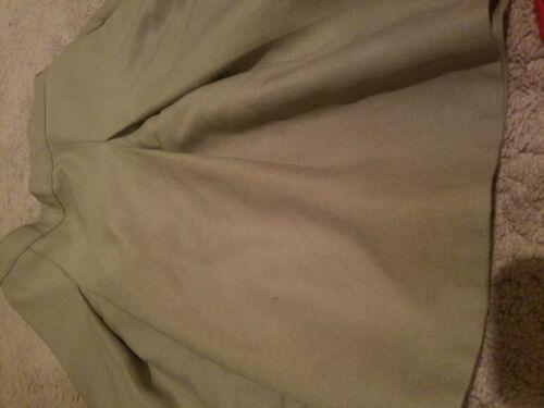 Dennis School Uniform Skirt khaki