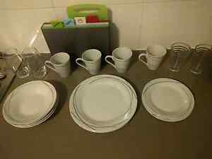 Crockery set perfect condition Wollstonecraft North Sydney Area Preview