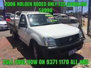 2006 HOLDEN RODEO 2.4LT 5 SPD MANUAL TRAY TOP ( IDEAL COURIER ) Bayswater Bayswater Area Preview