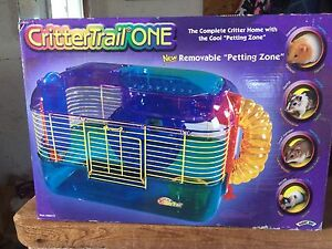 CritterTrail One cage for hamster