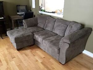 Sectional couch - REDUCED - like new