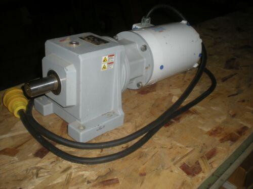 Stober Drives C202N0042MR160/050 Speed Reducer (4.2:1) w/Baldor Washdown Motor