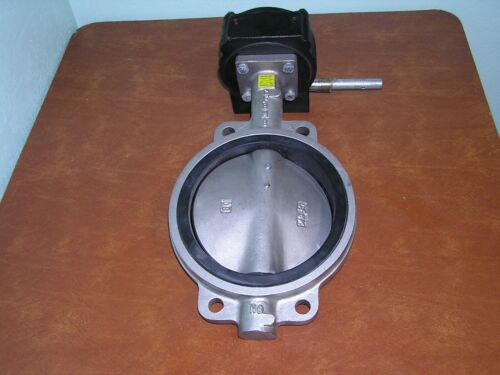 "New Center Line 63 Series 250W Butterfly Valve 8"" Diameter 285psi stainless"
