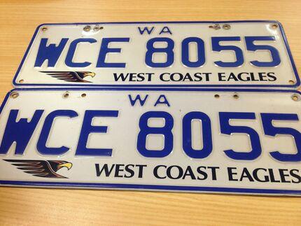 West coast eagle plates  Waikiki Rockingham Area Preview