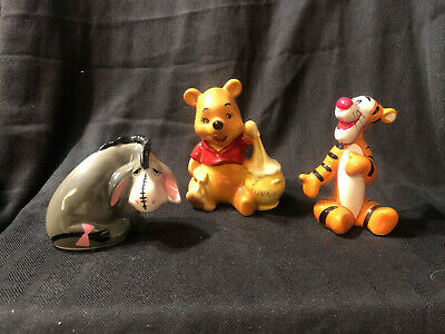 Tigger Winnie The Pooh (Vintage Disney Figurines of Winnie the Pooh, Eeyore and Tigger from the)