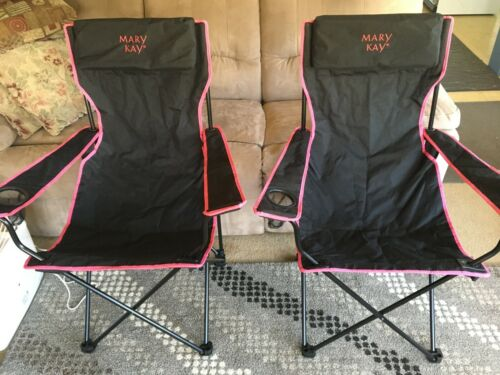 Mary Kay Folding Canvas Chair Set of Two