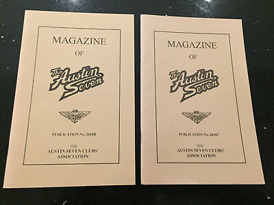 Magazine of the Austin Seven Club 2010  B and C Copies