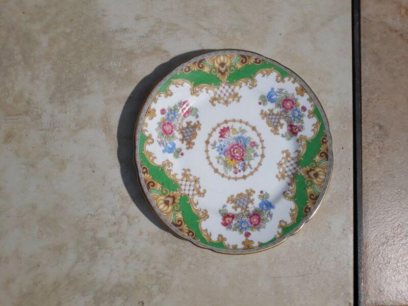 SHELLEY FINE BONE CHINA 6 inch dessert or sandwich plates (6)