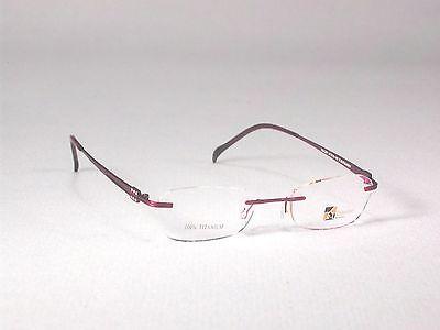 4f3ee44a9f8 Designer Titanium Eyeglass Frames Glasses Rimless Mens Womens Gold Red Brown