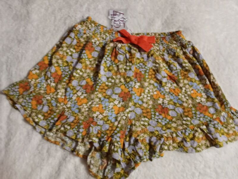 NWT Girls Matilda Jane 435 Fun Festival Shorts Size 14