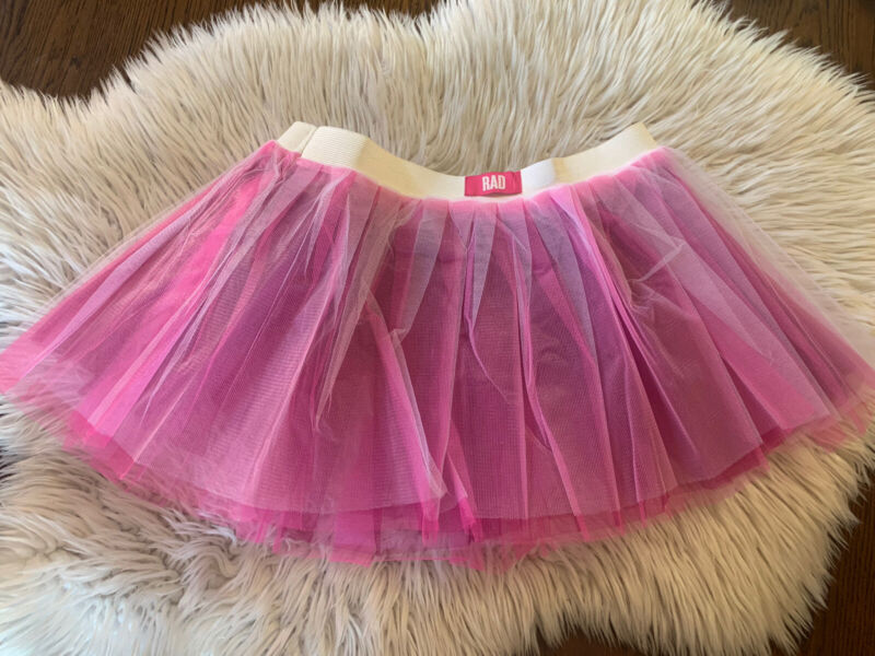 RAD New Without Tags, In Bag. Girls Tutu Pink/Purple/white Large 10-12 Tulle
