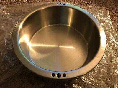 Stainless Steel Popcorn Kettle W Heating Element 120v 1290w 9 Id 4 Depth