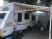 Jayco Destiny 17ft pop-top caravan Creswick Hepburn Area Preview
