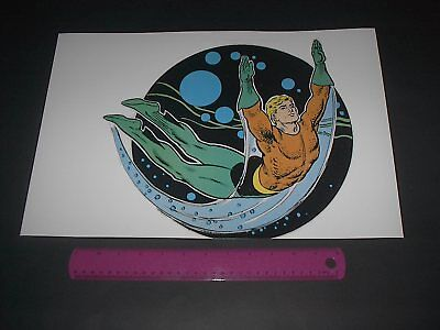 DC COMICS SUPER-HEROES AQUAMAN POSTER PIN UP OLD SCHOOL STYLE