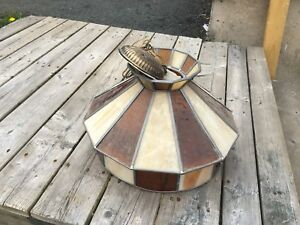 Stained Glass Light Fixture