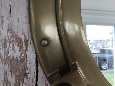 """20"""" Porthole Mirror - Antique Brass Finish - Nautical Wall Decor - Large"""