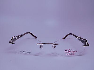 Boutique TR-217 Titanium Women's Eyeglasses Handmade.