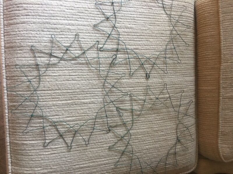 Vintage Wire Star Shaped Wreath Forms(3)