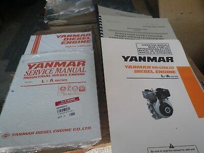 Yanmar L70ae L70 Diesel Engine Both Electric Start Pull Start Brand New Original