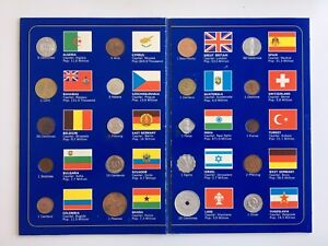 1970s Vintage Gulf Oil Canada World Coin Sets - Complete