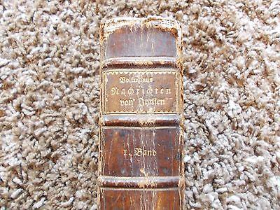 Buch Nachrichten von Italien 1.Band von 1770