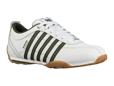 K Swiss Trainers - Arvee 1.5 Tech Trainer - 02453 - 095 - White / Rifle Green