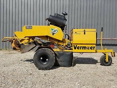 2005 Vermeer Sc252 Stump Cuttergrinder - 709 Hours - Great Condition