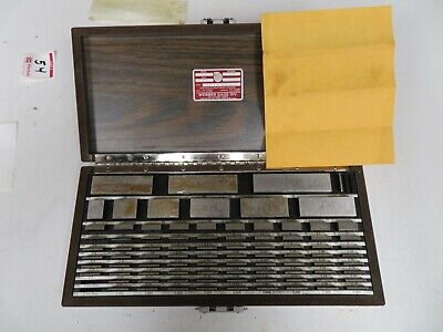 Starrett Webber S2c88ma1 88 Piece Square Metric Croblox Gage Block Set - Ns25