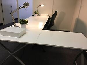 Computer tables Crows Nest North Sydney Area Preview